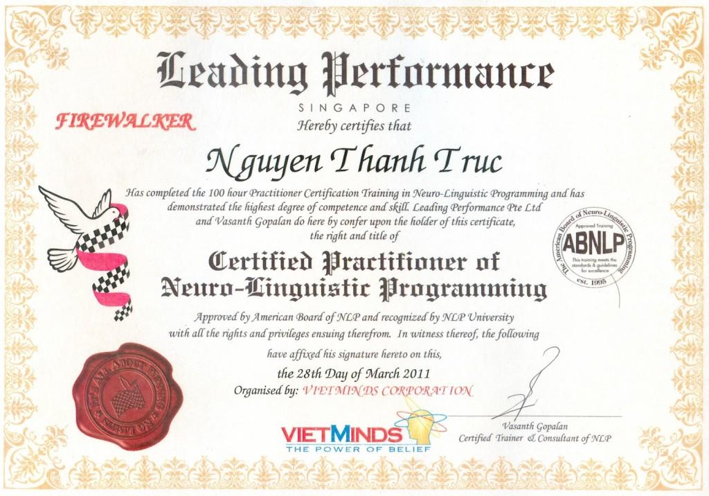 Certified-Practitioner-NLP