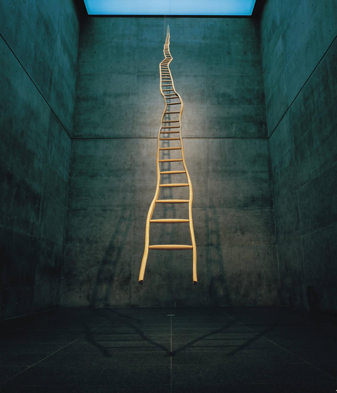Hé lộ chiếc thang ma thuật dẫn tới thành công cho bất kỳ ai