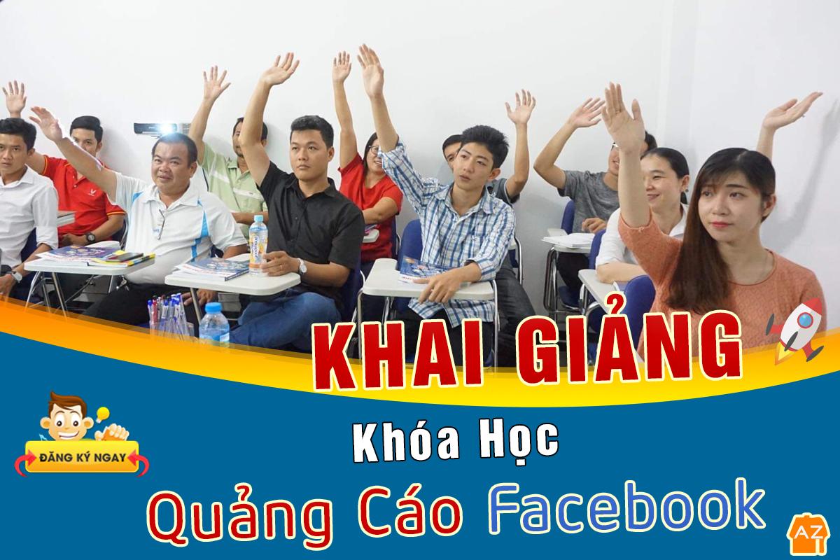 Khai giảng khóa Quảng cáo Facebook tại Cần Thơ